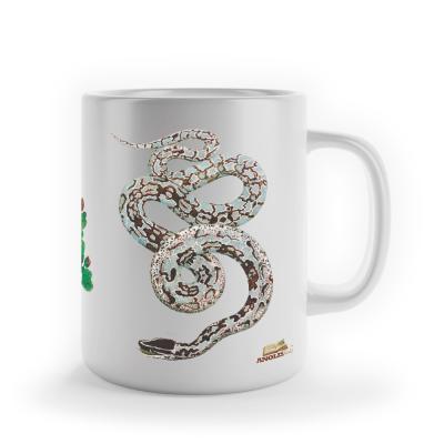 """Caneca """"Seba - Common Boa - Boine Snake"""""""