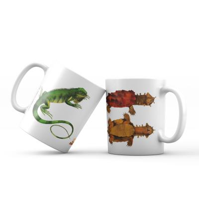 "Caneca ""Spix - Chelus/Iguana"""