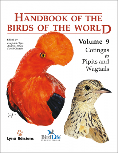 Handbook of the Birds of the World: Cotingas to Pipits and Wagtails: 9