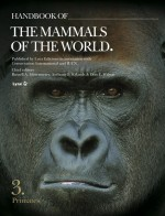 Foto do produto Handbook of the Mammals of the World, Volume 3: Primates