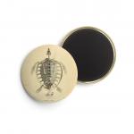 Foto do produto Buttons ERPÉTOLOGIE GÉNÉRALE - Duméril & Bibron, 1839 - Esqueletos (3 unid)