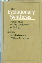 Foto do produto The Evolutionary Synthesis. Perspectives on the unification of biology.