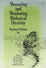 Foto do produto Measuring and Monitoring Biological Diversity. Standard Methods for Amphibians