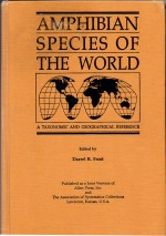 Foto do produto Amphibian Species of the World : A Taxonomic and Geographical Reference