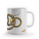 "Foto do produto Caneca ""Seba - Snake from South America"""