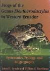 Foto do produto Frogs of the Genus Eleutherodactylus in Western Ecuador