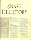 Foto do produto Snake - The essential visual guide to the world of Snakes
