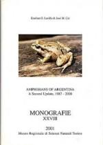 Foto do produto Amphibians of Argentina + 2 UPDATES (1987-2000)